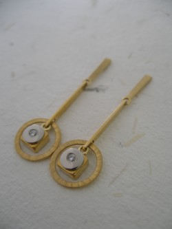 "PENDENT EARRINGS ""TOC"""