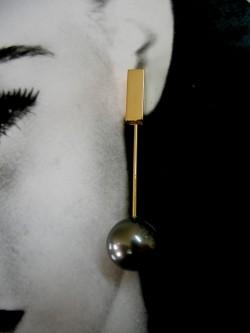 """PENDENT EARRINGS """"REGLETA""""..."""